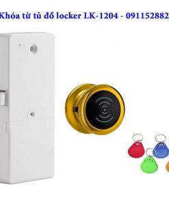 Khóa từ tủ đồ locker - LK1204 - Màu vàng