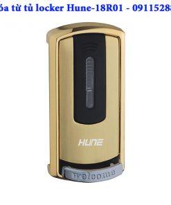 Khóa từ tủ đồ locker Hune - 18R01, Màu vàng