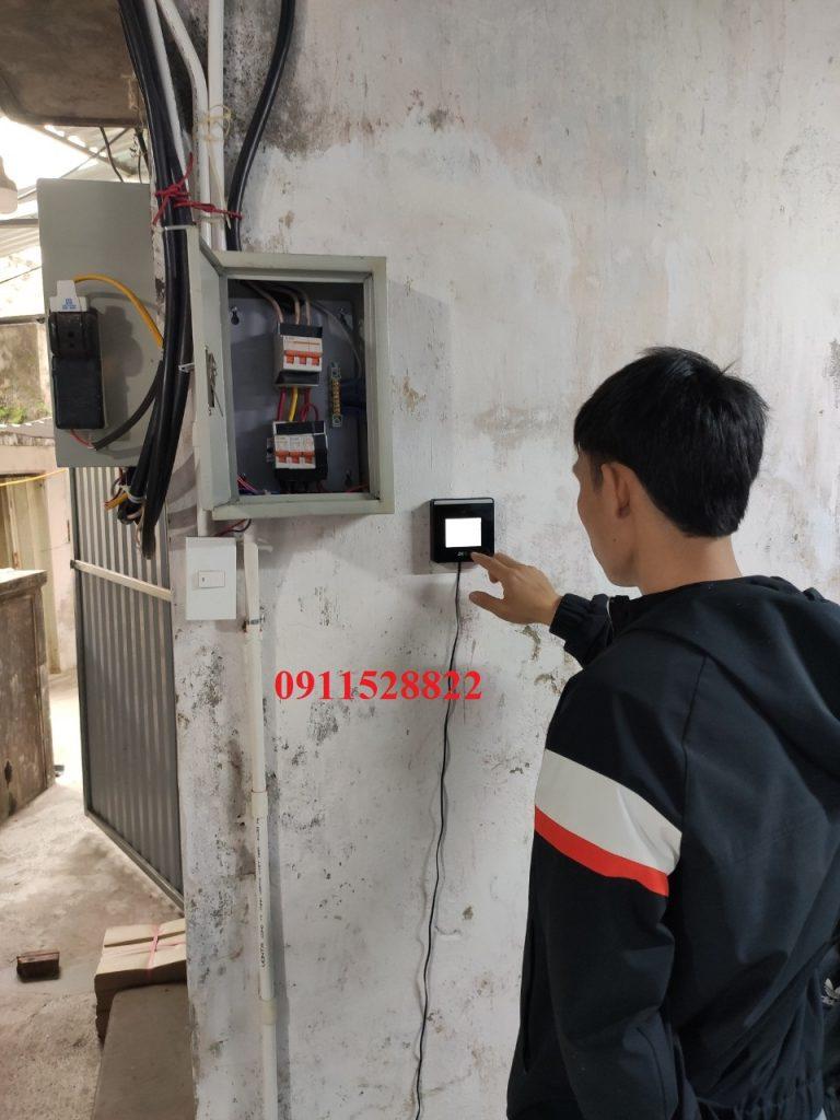 công trình thực tế Lắp đặt thực tế MiniTA xFace50 tại Phúc Thọ - Hà nội