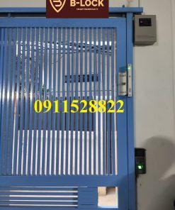 Lắp đặt thực tế kiểm soát vân tay nhà trọ F9S tại Hà Nội