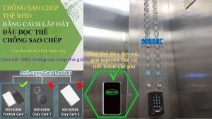 Chống sao chép thẻ RFID bằng cách lắp đặt đầu đọc thẻ chống sao chép